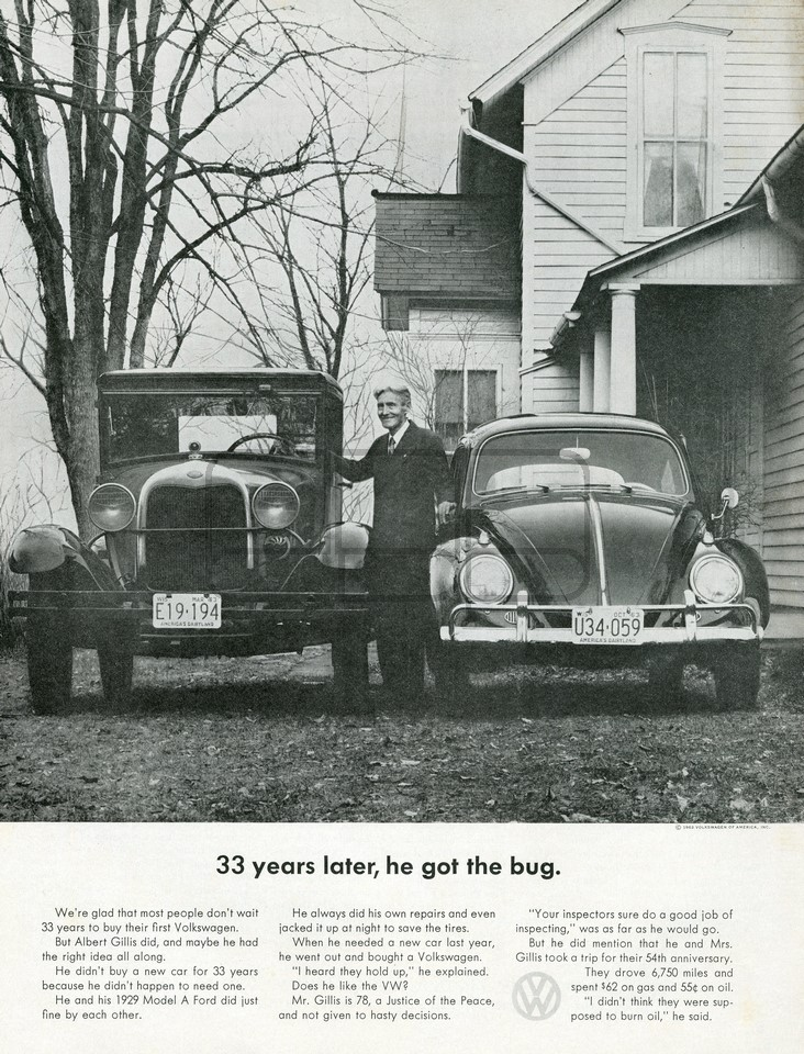 VOLKSWAGEN 33 YEARS LATER 1963