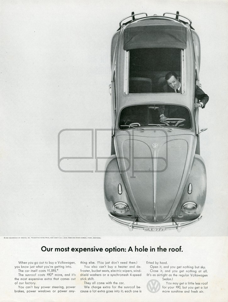 VOLKSWAGEN A HOLE 1963