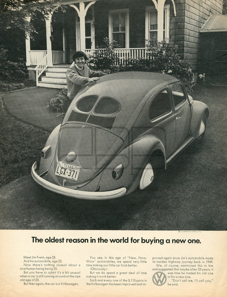 VOLKSWAGEN OLDEST REASON 1971