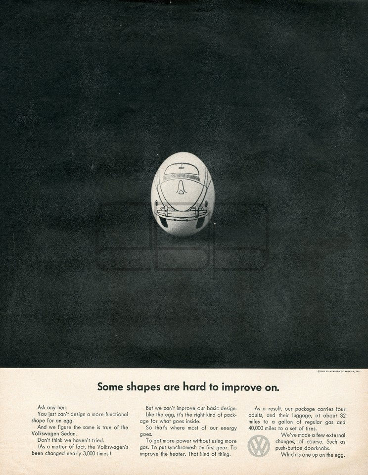 VOLKSWAGEN SHAPES 1963