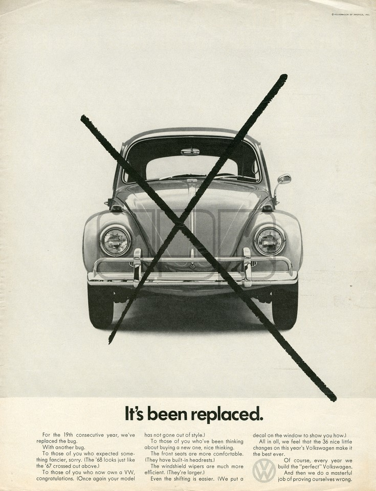 LÁMINA VOLKSWAGEN REPLACED 1967