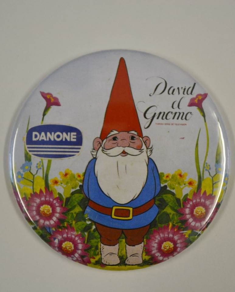 IMÁN 75MM DANONE DAVID EL GNOMO